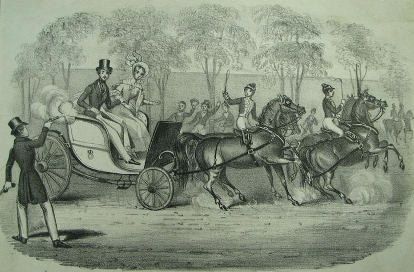 Эдвард Оксфорд стреляет в королеву Викторию