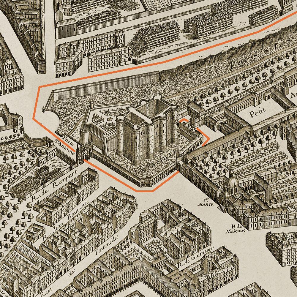 Бастилия и окрестности