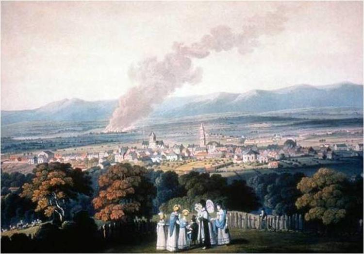 Вид на Карроновский завод со стороны Фолкерка, 1790