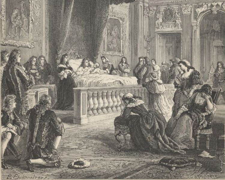 Утешение Людовика XIV