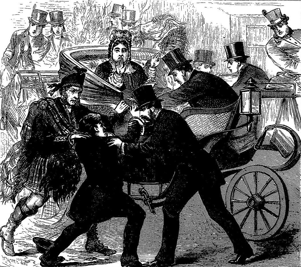 Артур О'Коннор совершает покушение на королеву Викторию