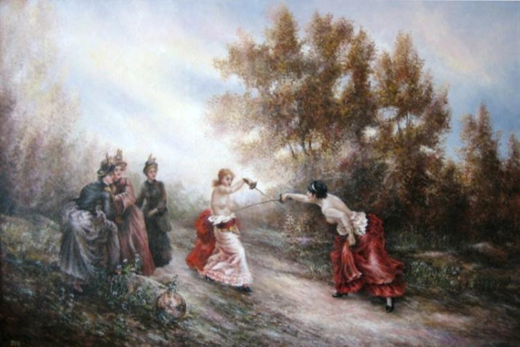 Дуэль между Паулиной Меттерних и графиней Кильмансегг