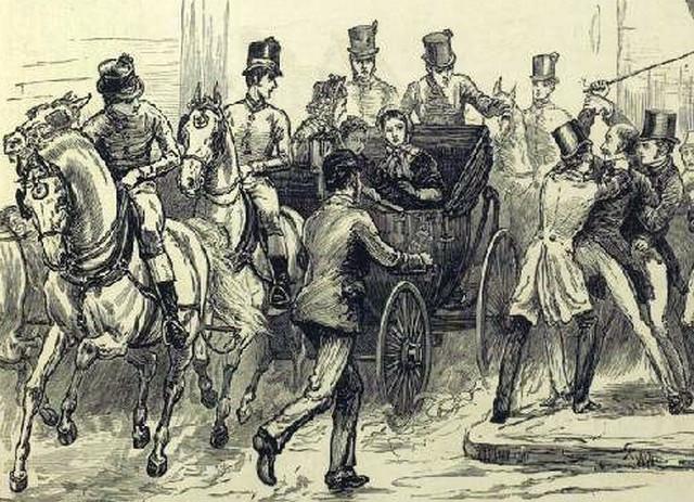 Роберт Френсис Пате напал на королеву Викторию