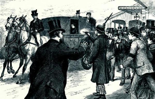 Родерик Маклин пытается убить королеву Викторию