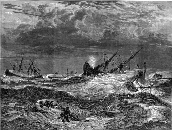 Великий шторм 1703 года