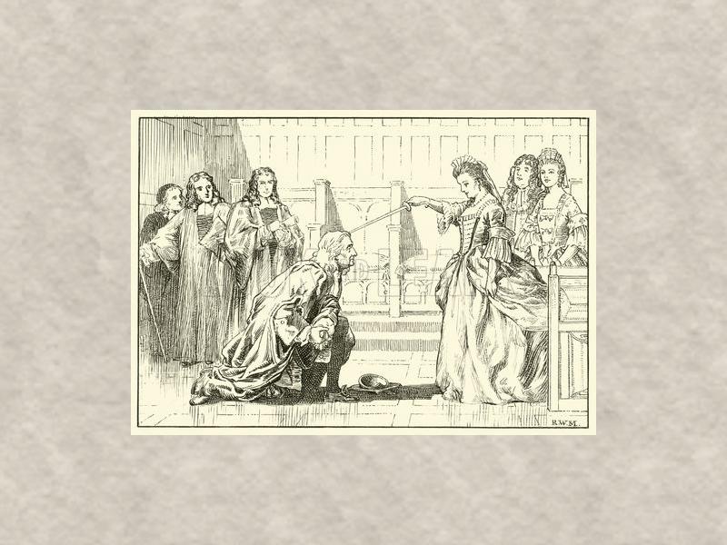 Исаак Ньютон произведён в рыцари