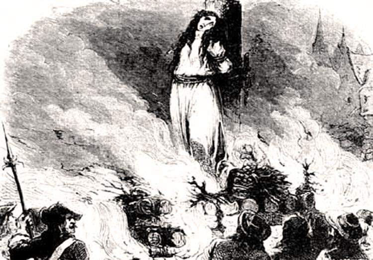 Сожжена за ересь Мария де лос Долорес Лопес