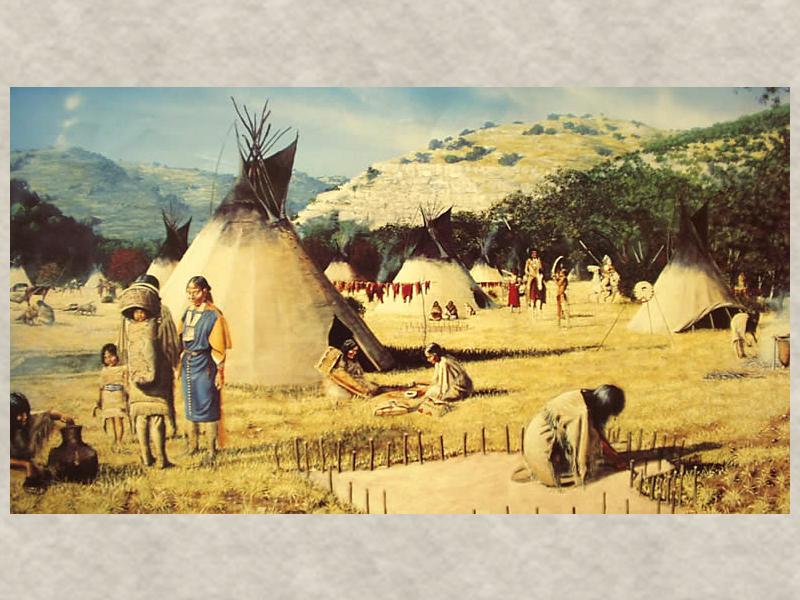 Мирный договор 1749 года между апачами и Испанией