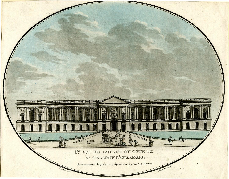 Начало работы музея в Лувре
