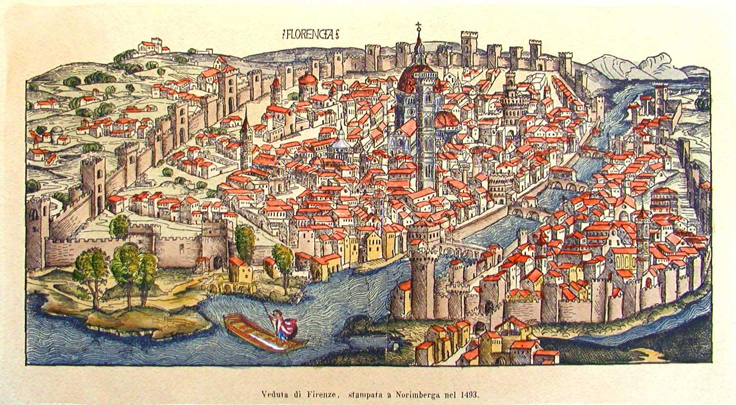Флоренция в 1493 году