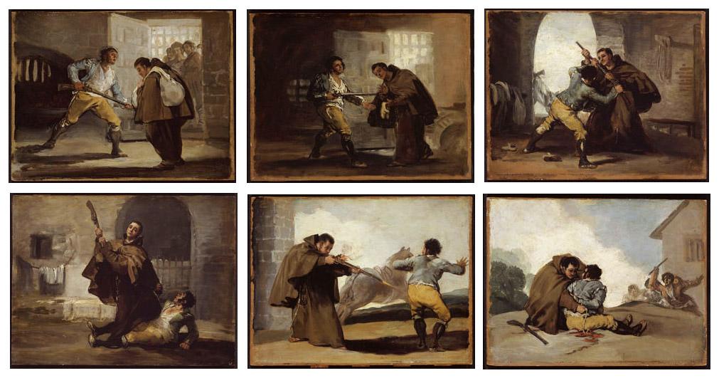 Монах брат Педро поймал разбойника Эль-Марагато