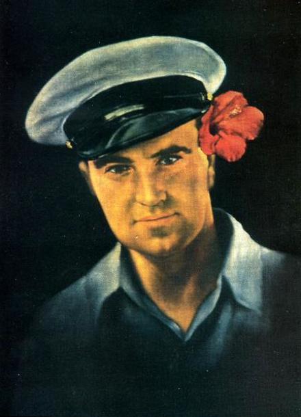 Эдгар Литег, автопортрет, середина 1930-х.