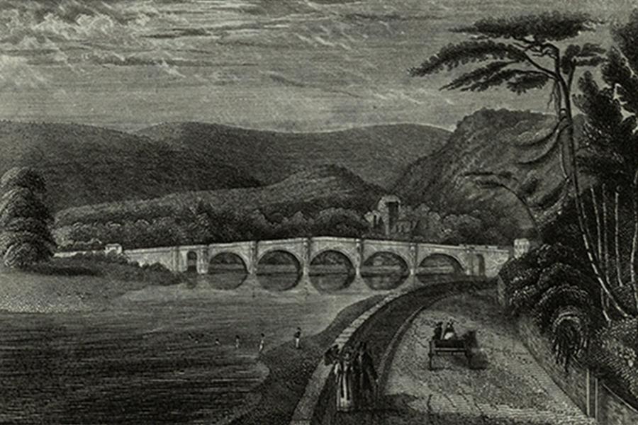 Мост Телфорда в Данкелде