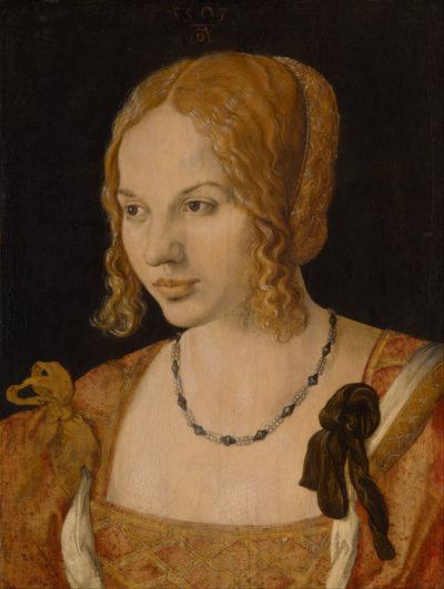 Портрет молодой венецианки, Дюрер, 1505