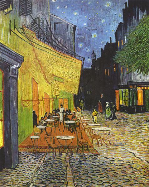 Арль ван Гога - терраса кафе в Арле