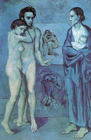 """""""Жизнь"""", Пабло Пикассо, 1903"""