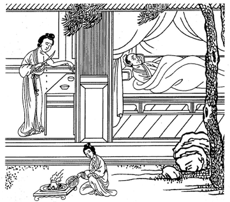 Курьезы танской медицины или Как лечили в средневековом Китае
