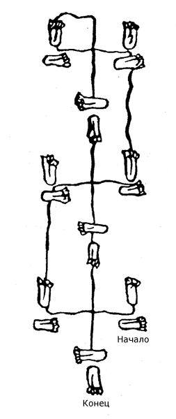 Шаг Юя или Юев шаг - магический танец