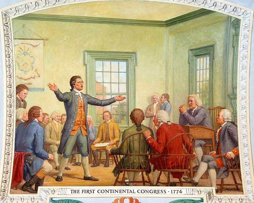 Первый континентальный конгресс.