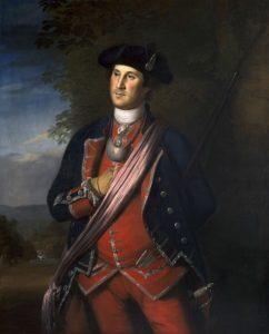 Джордж Вашингтон незадолго до Революции (1772).