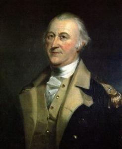 Артемас Уорд, командующий Обсервационной армией Новой Англии.