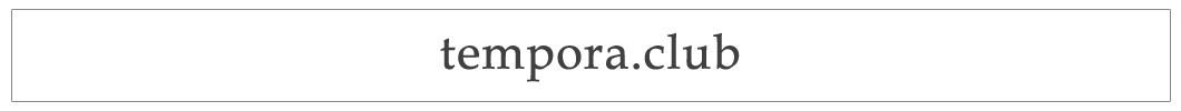 Tempora.club